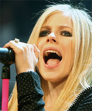 avril lavigne videos