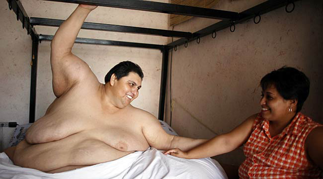 fattest woman in world. the world#39;s fattest man,