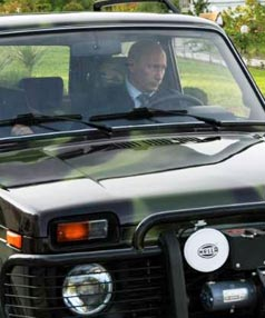 Putin flaunts new lada niva world business stuff co nz