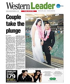 Western Leader front page