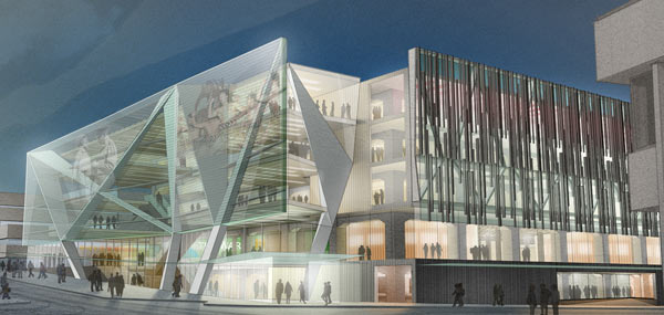 National Library new design