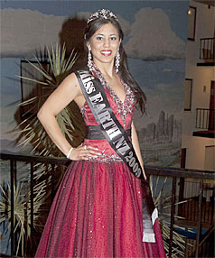 WAVERLY CHAMPION: Catherine Irving is Waverly's latest champion. She was crowned Miss Earth New Zealand 2009 in Auckland on Saturday.