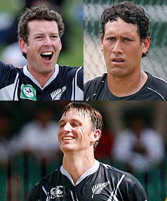 Ian Butler, Daryl Tuffey and Shane Bond were back in action together for New Zealand for the first time in seven years during the ODI against Sri Lanka.