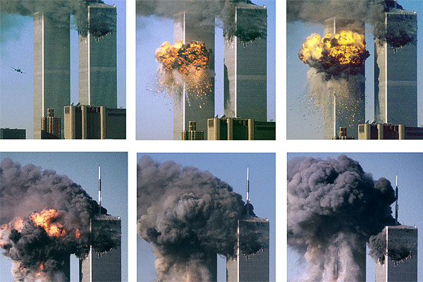World Trade Centre impacts