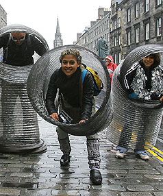 Feel the vibe and buzz of the Edinburgh Fringe