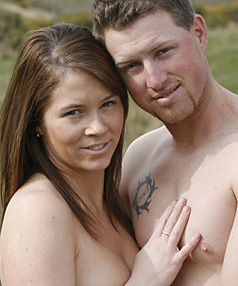 Cherie Taylor and Shane Carson