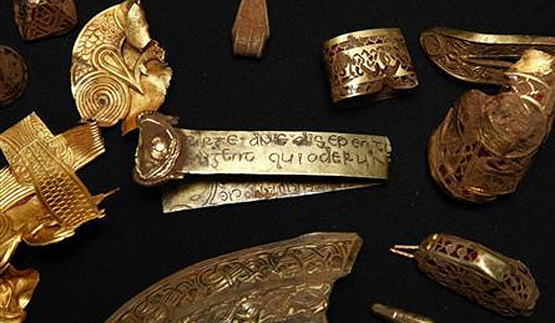 Anglo Saxon gold