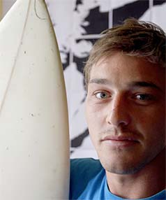 Surfer Chris Nel