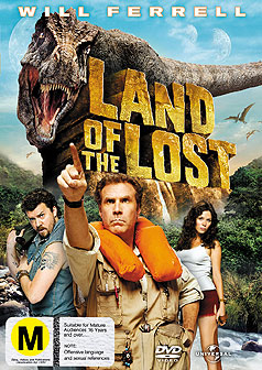 Land of the Lost is a mess of a movie.