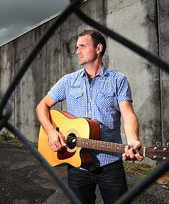 STRIKING A CHORD: Hamilton music teacher Evan Rhys Davies helped Spring Hill prison inmates produce a CD of music they'd written behind bars.