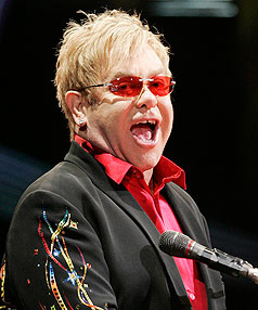 Sir Elton John has been voted the top male gay icon of all time.