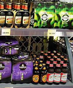 BREWING SPECULATION: Woolworths is said to be considering buying New Zealand-founded Ind