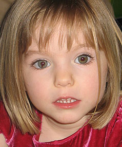 BEFORE SHE WENT MISSING: Madeleine McCann in 2006, aged 3.