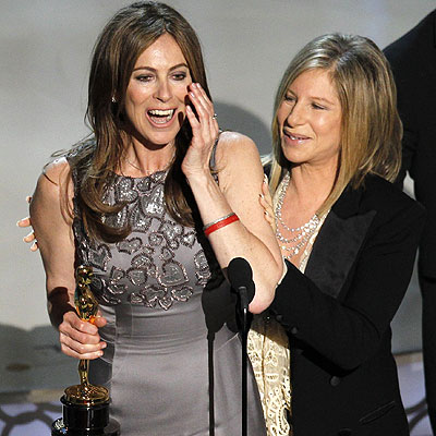 Kathryn Bigelow wins Best Director Oscar