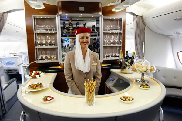 Inside Emirates' A380