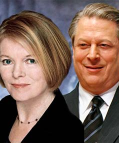 Muriel Newman and Al Gore montage