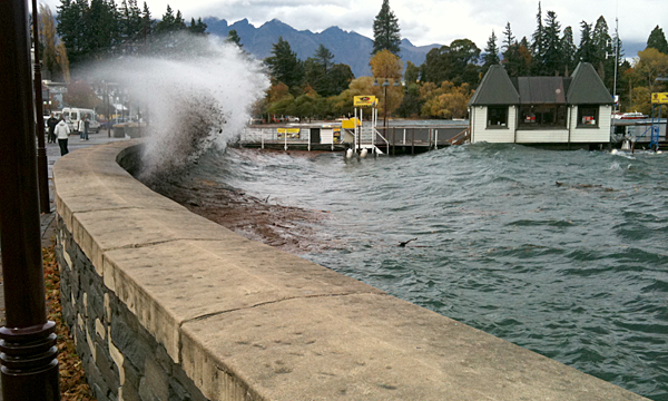 Flooding Queenstown 5