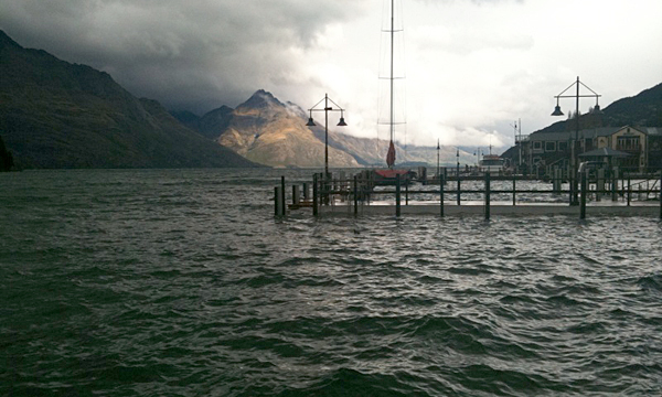 Flooding Queenstown