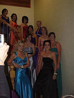 James Hargest College ball 2010