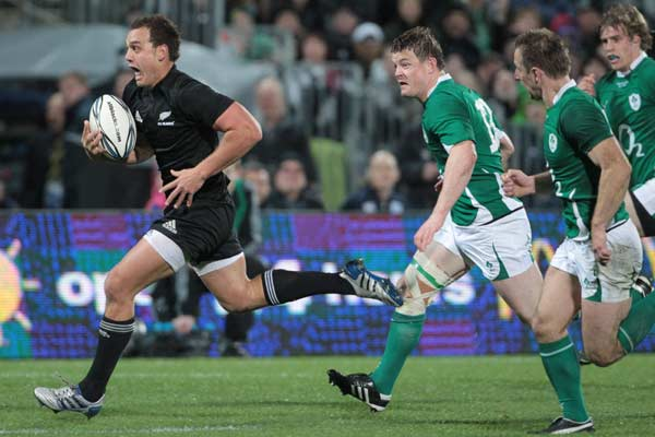All Blacks fullback Israel Dag