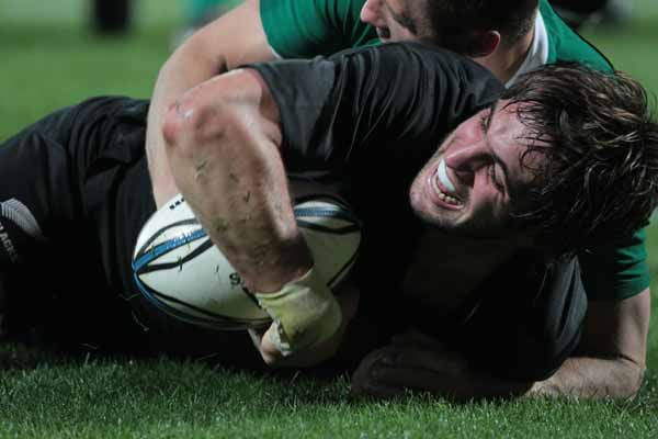 All Blacks lock Sam Whitelock