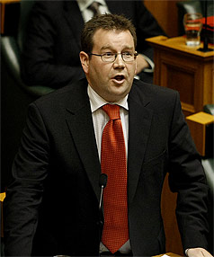 GRANT ROBERTSON: Picks up tertiary education from Te Atatu MP Chris Carter, who was also demoted, and moves