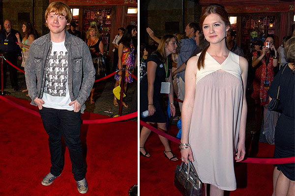 Wizarding World of Harry Potter red carpet