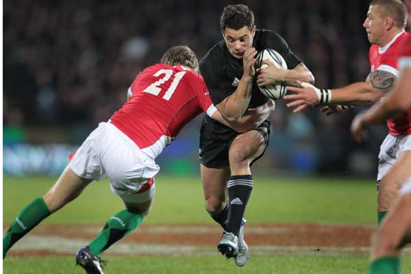 All Blacks first-five Dan Carter