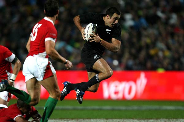 All Blacks centre Richard Kahui