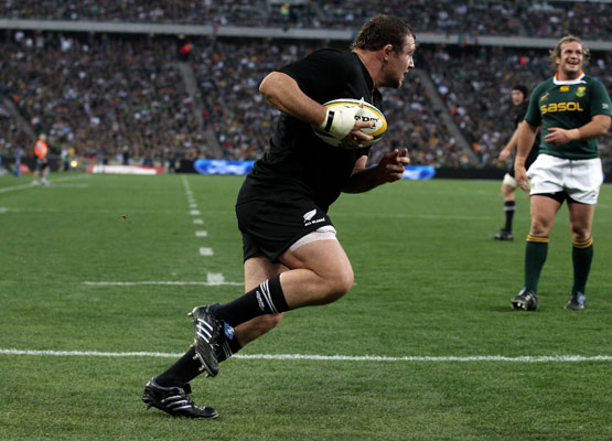 All Blacks v Springboks in Soweto