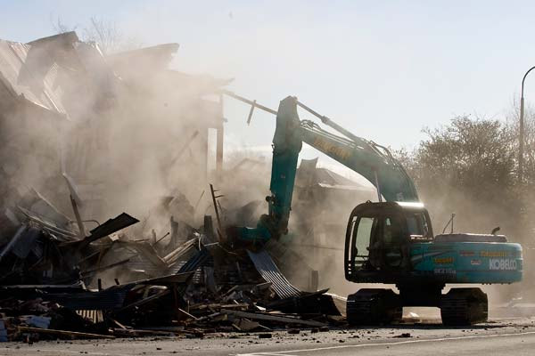 Christchurch earthquake cleanup
