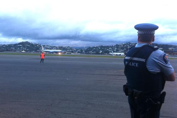 US Secretary of State Hillary Clinton has arrived in Wellington.