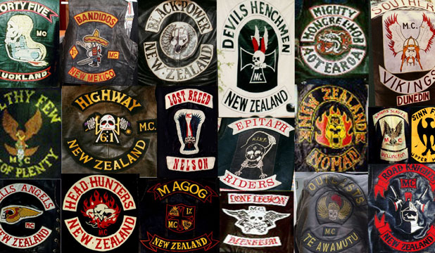 Nz gang patch images