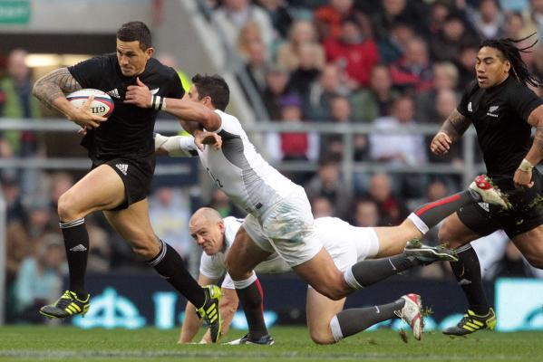 Sonny-Bill Williams leaves