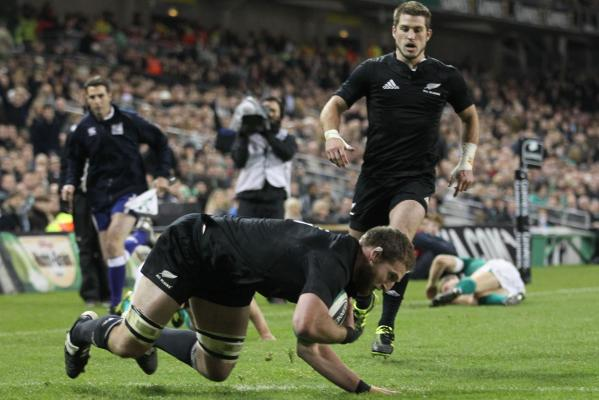 All Blacks v Ireland