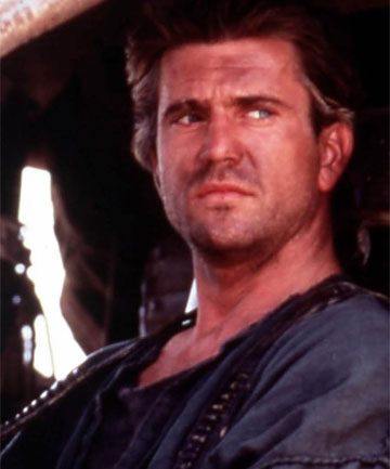 young mel gibson mad max. TOUGH GUY: Mel Gibson in a