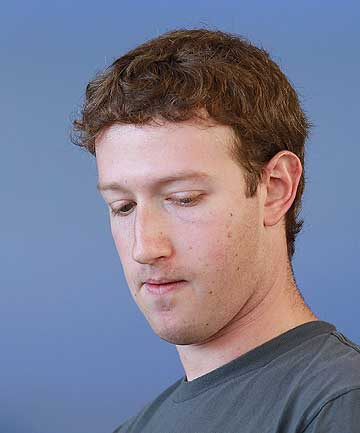 FACEBOOK CHIEF MARK ZUCKERBERG: Facebook site was a
