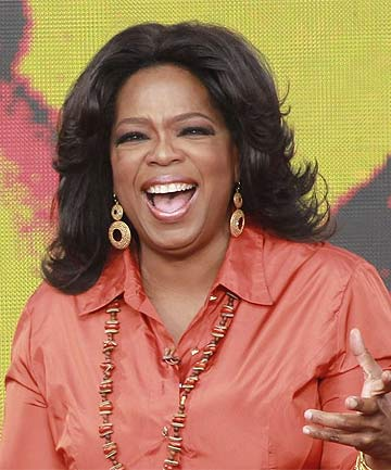 BULA: Oprah is heading to Fiji to be with boyfriend Stedman Graham.