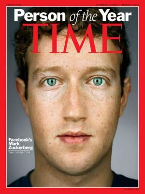 Mark Zuckerberg - Person of the year
