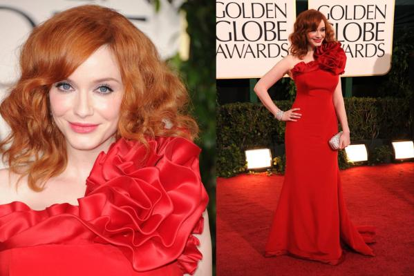 Golden Globes - Christina Hendricks