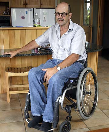 BACKING RESEARCH: He may not fit the criteria but Hamilton paraplegic Frank ...