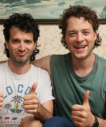 Bret McKenzie and Hamish Blake