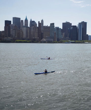 Hudson River kayaking