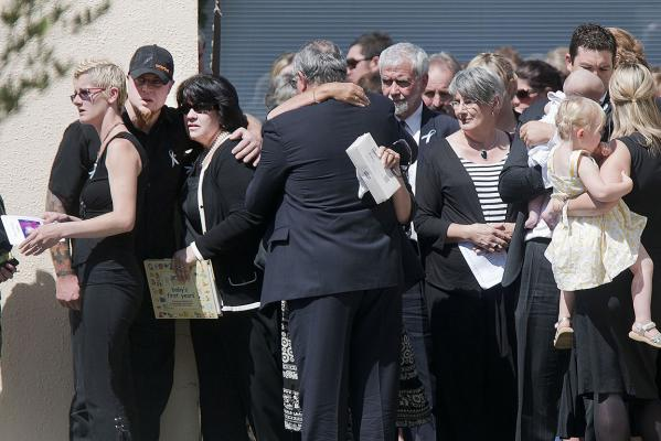 Baxtor Gowland funeral