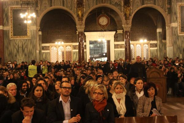 Westminster cathedral vigil