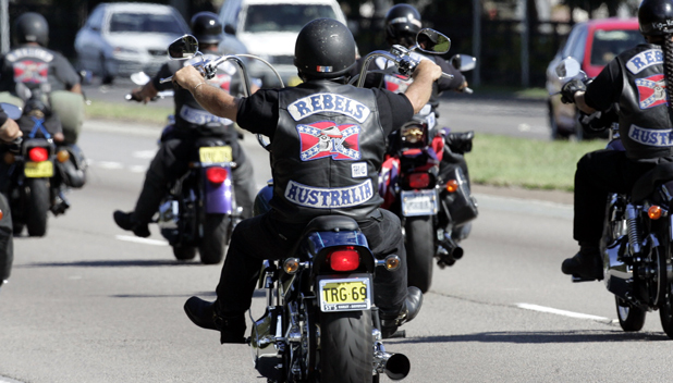 Satans Slaves MC Motorcycle Club - One Percenter Bikers