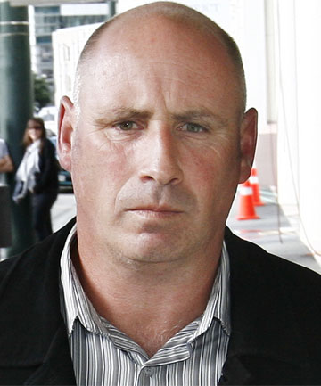 BREACH OF TRUST: Former ACC national property manager Malcolm  Mason leaves Wellington District Court after his sentencing.