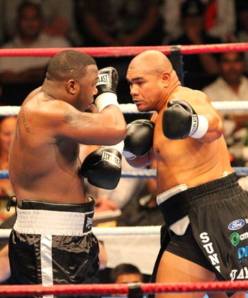David Tua and Demetrice King