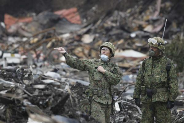 Faces of Japan's earthquake and tsunami disaster