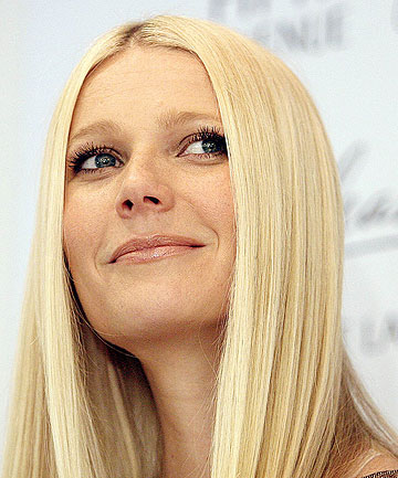 REGULAR MUM: Gwyneth Paltrow says she is no glamour puss at home.